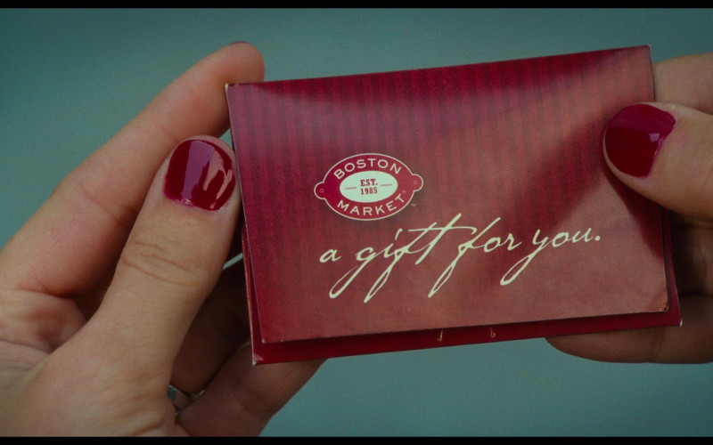 Boston Market Gift Card of Cameron Diaz as Elizabeth Halsey in Bad Teacher (1)