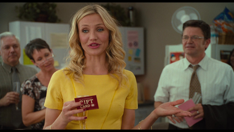 Boston Market Gift Card of Cameron Diaz as Elizabeth Halsey in Bad Teacher (4)
