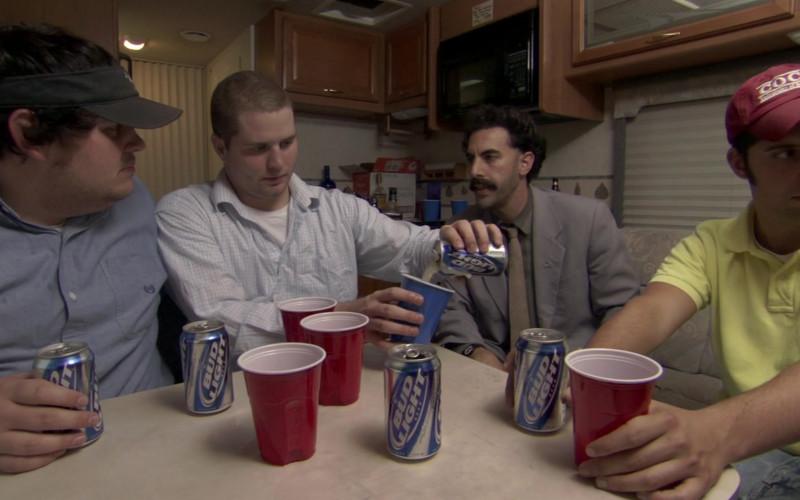 Bud Light Beer in Borat 2006 Movie (1)