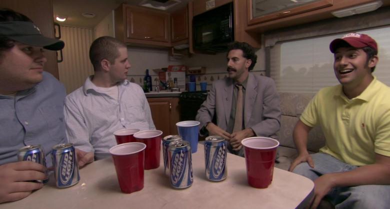 Bud Light Beer in Borat 2006 Movie (2)