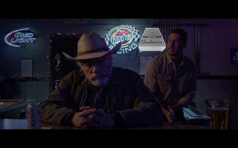 Bud Light, Miller Lite and Budweiser in The Devil Has a Name (2019)