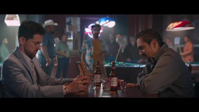 Budweiser Beer Bottles in Half Brothers (2020)