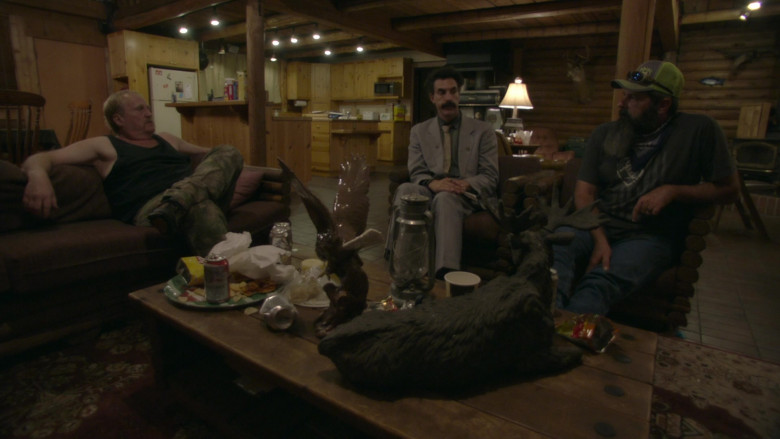 Budweiser Beer Cans and Pack in Borat Subsequent Moviefilm (1)
