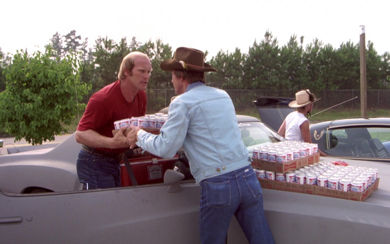 Budweiser Beer Cans in The Cannonball Run Movie (1)