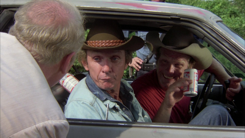 Budweiser Beer Cans in The Cannonball Run Movie (2)