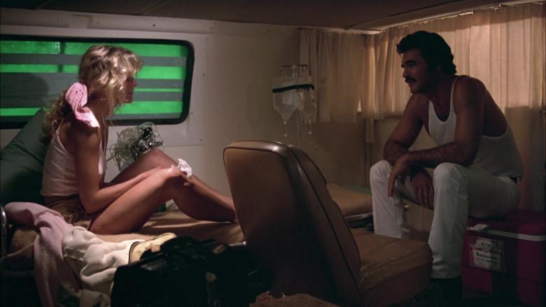 Budweiser Beer Cooler of Burt Reynolds as Racer J.J. McClure in The Cannonball Run (1981)