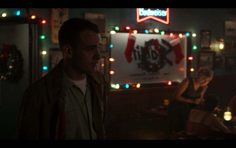 Budweiser Beer Sign in The Right Stuff S01E04 Advent (2020)