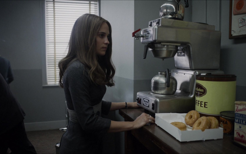 Bunn Coffee Machine Used by Alicia Vikander as Gloria Steinem in The Glorias
