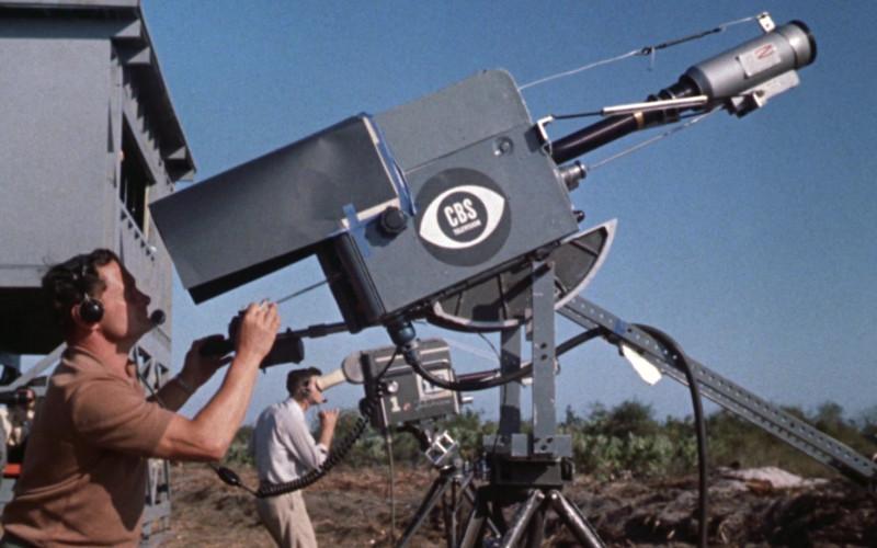 CBS Television Camera in The Right Stuff (1983)