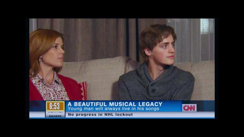 CNN TV Channel in Clouds Movie (2)