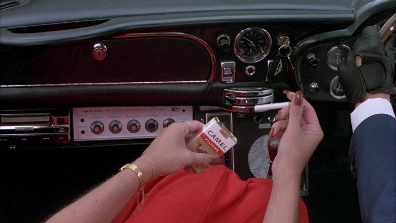 Camel Cigarettes in The Cannonball Run (1981)