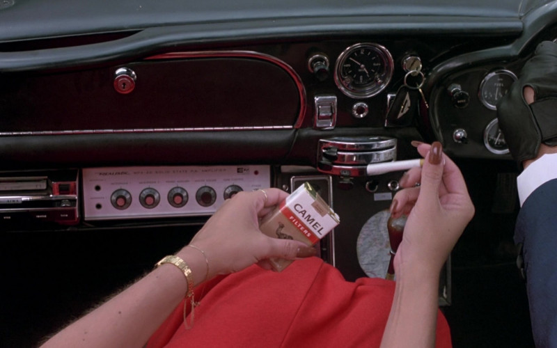 Camel Cigarettes in The Cannonball Run (1981)