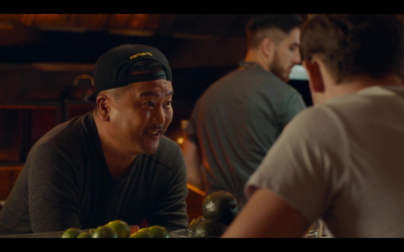 Carhartt Cap of Roy Choi in The Broken Hearts Gallery (2020)