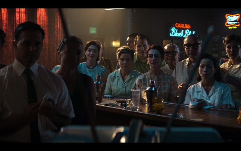 Carling Black Label and Miller Beer Signs in The Right Stuff S01E01 Sierra Hotel (2020)