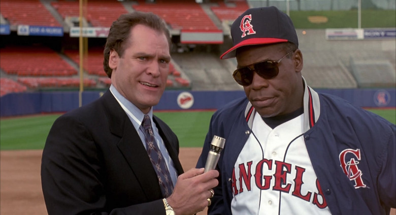 Carrera Sunglasses of Danny Glover as George Knox in Angels in the Outfield (1994)