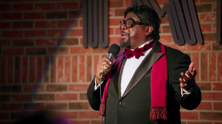 Cazal 623 Legends Glasses of Cedric the Entertainer as Billy G in The Opening Act (2)