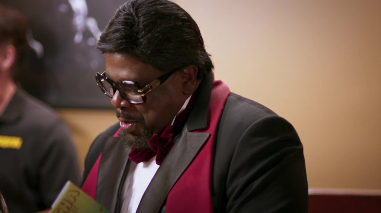Cazal 623 Legends Glasses of Cedric the Entertainer as Billy G in The Opening Act (3)