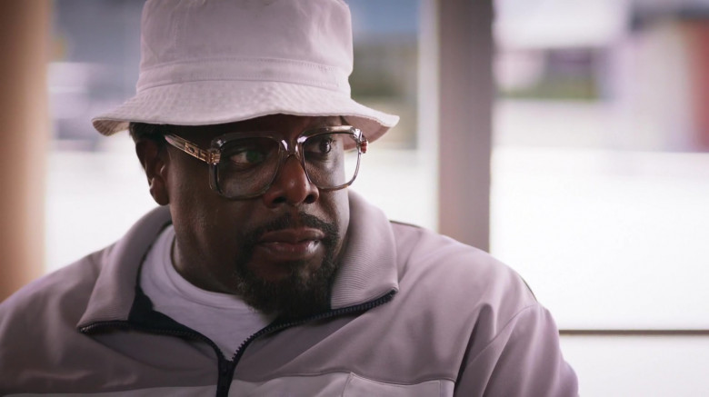 Cazal Legends Square Plastic Transparent Frame Eyeglasses of Cedric the Entertainer as Billy G in The Opening Act (1)