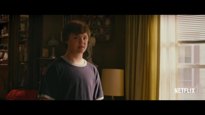 Champion T-Shirt of Owen Asztalos as Young J.D. in Hillbilly Elegy