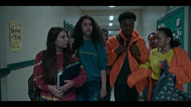 Champion Women's Sweatshirt in Grand Army S01E09 Freedom (2020)