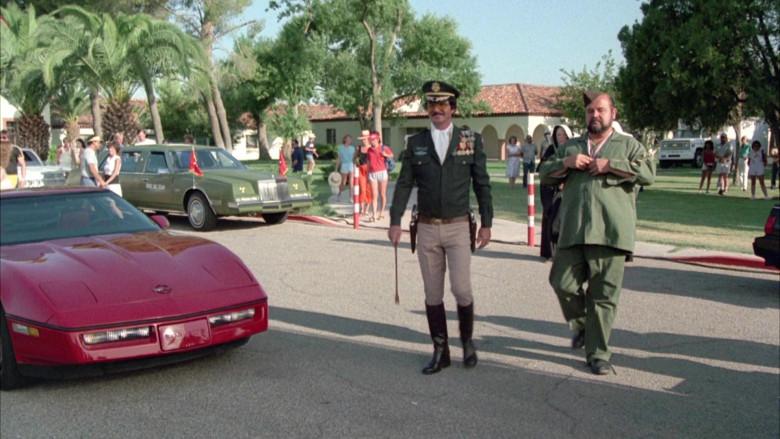 Chevrolet Corvette C4 Car in Cannonball Run II Movie (1)