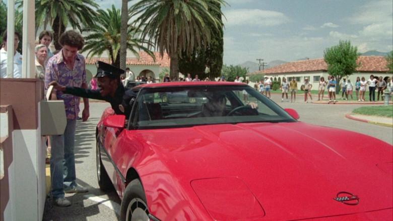 Chevrolet Corvette C4 Car in Cannonball Run II Movie (2)
