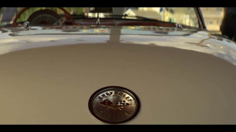 Chevrolet Corvette Convertible Retro Car in The Right Stuff S01E02 TV Show (1)