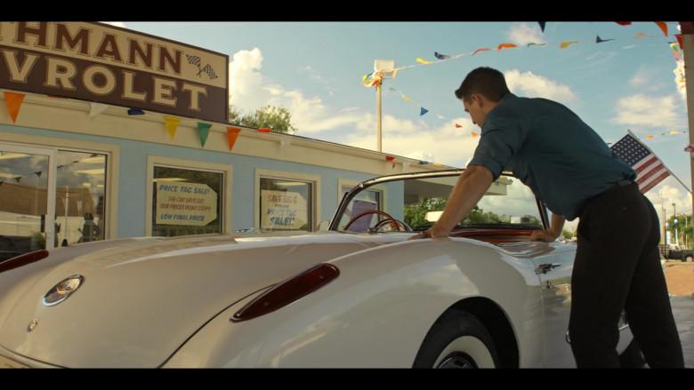 Chevrolet Corvette Convertible Retro Car in The Right Stuff S01E02 TV Show (2)
