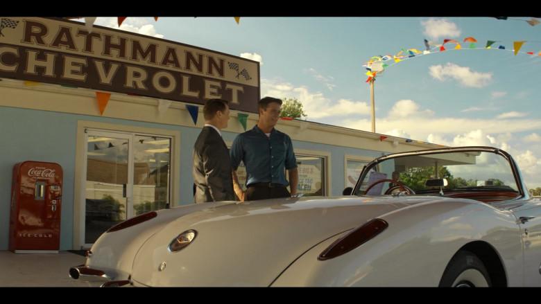 Chevrolet Corvette Convertible Retro Car in The Right Stuff S01E02 TV Show (3)