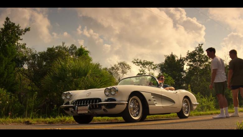 Chevrolet Corvette Convertible Retro Car in The Right Stuff S01E02 TV Show (4)