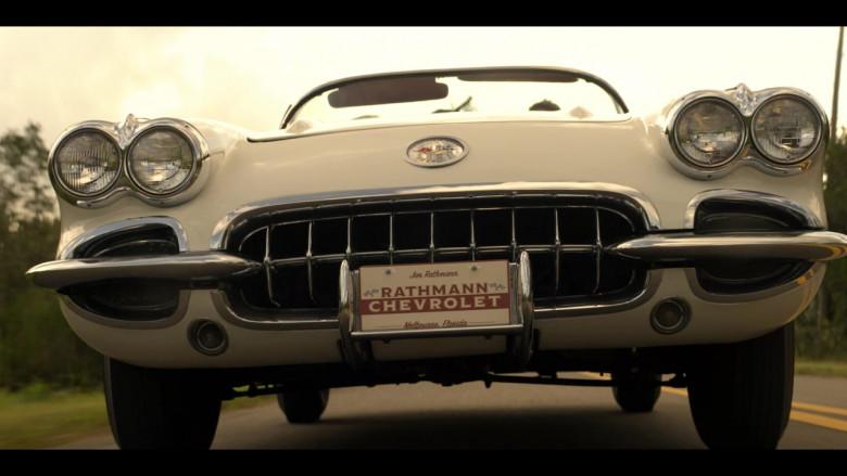 Chevrolet Corvette Convertible Retro Car in The Right Stuff S01E02 TV Show (5)