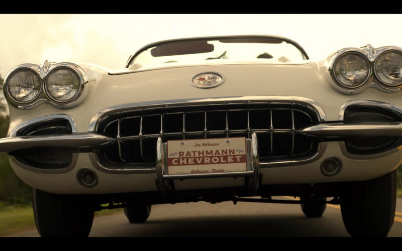 Chevrolet Corvette Convertible Retro Car in The Right Stuff S01E02 TV Show (5)