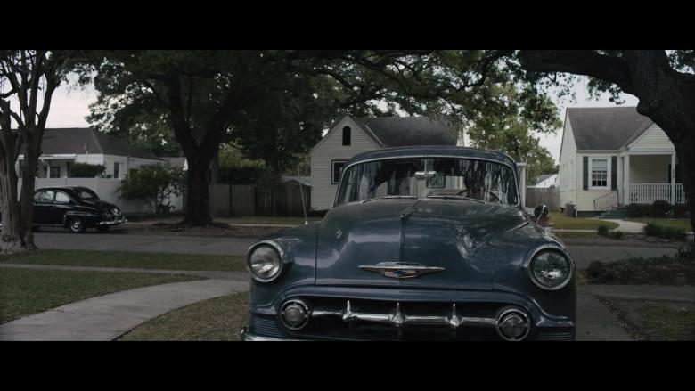 Chevrolet Retro Vintage Car of Noomi Rapace as Maja Stowe in The Secrets We Keep Movie (1)