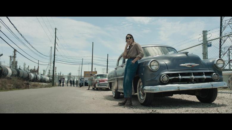 Chevrolet Retro Vintage Car of Noomi Rapace as Maja Stowe in The Secrets We Keep Movie (3)