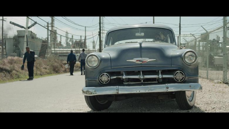 Chevrolet Retro Vintage Car of Noomi Rapace as Maja Stowe in The Secrets We Keep Movie (4)