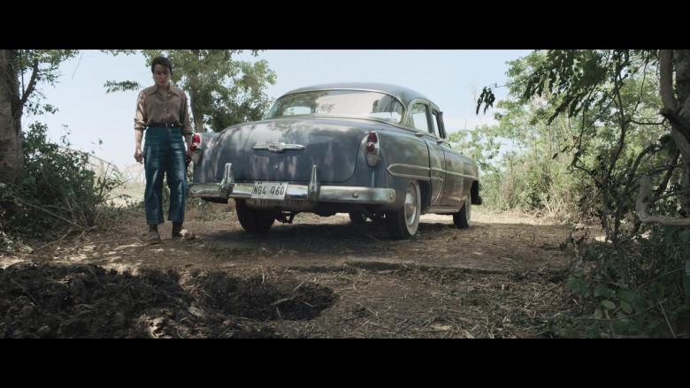 Chevrolet Retro Vintage Car of Noomi Rapace as Maja Stowe in The Secrets We Keep Movie (6)