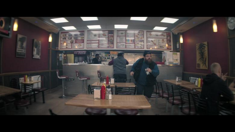 Coca-Cola Refrigerator in Truth Seekers S01E01