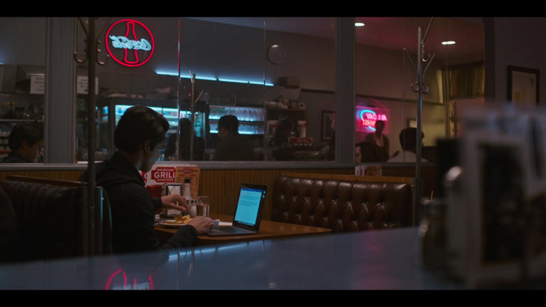 Coca-Cola Sign in Grand Army S01E03 Relationship Goals (2020)