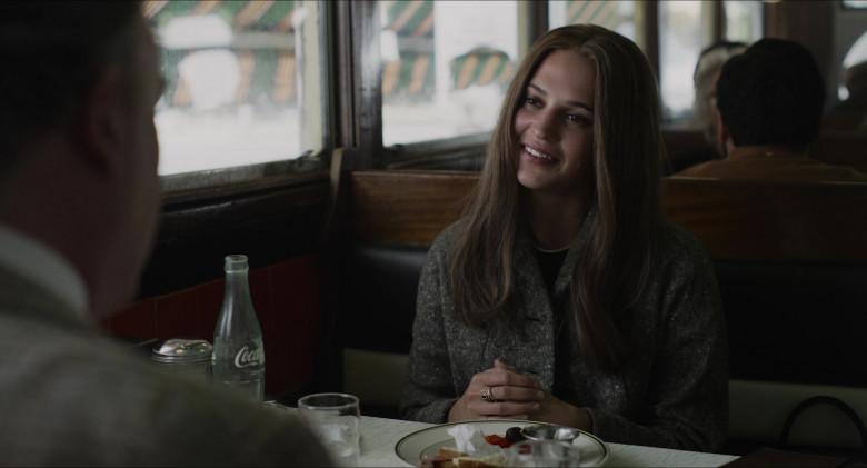 Coca-Cola Soda Bottle of Alicia Vikander as Gloria Steinem in The Glorias (2020)
