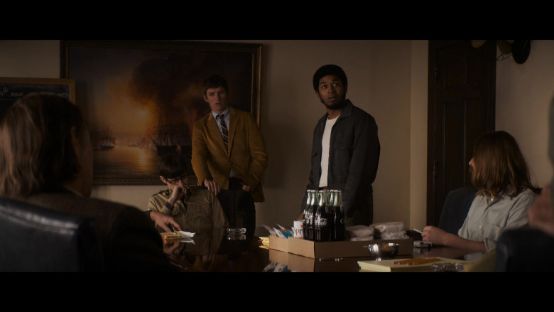 Coca-Cola Soda Bottles in The Trial of the Chicago 7 Movie (2)