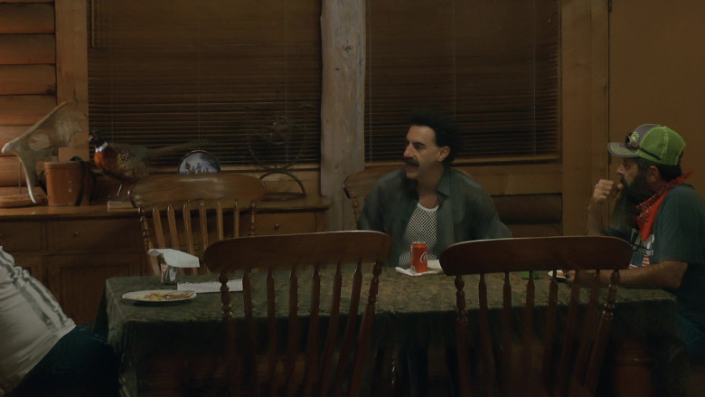 Coca-Cola Soda Enjoyed by Sacha Baron Cohen in Borat Subsequent Moviefilm (2020)