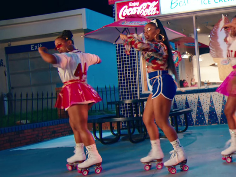 Coca-Cola Soda Sign in 'In n Out' Music Video by Mulatto feat. City Girls (3)