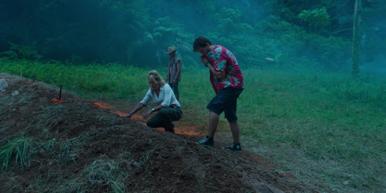 Converse Shoes of Jon Heder as Jimmy in Tremors Shrieker Island Movie (2)