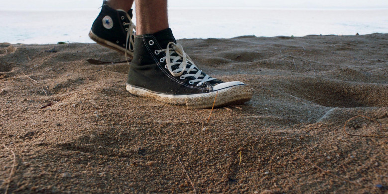 Converse Shoes of Jon Heder as Jimmy in Tremors Shrieker Island Movie (3)