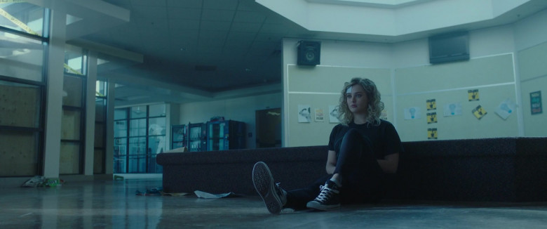 Converse Shoes of Katherine Langford as Mara Carlyle in Spontaneous Movie (3)