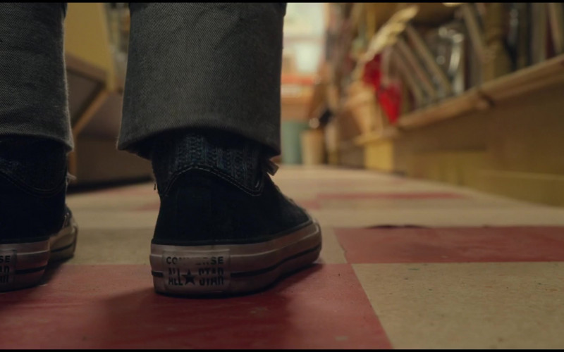 Converse Sneakers of Jahzir Kadeem Bruno as Charlie Hansen in The Witches 2020 Movie (2)