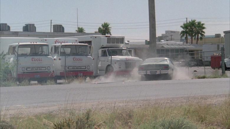 Coors Trucks in Cannonball Run II
