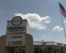 Criswell Performance Cars Dealership in Borat (2006)