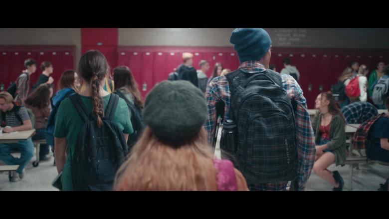 Dakine Backpack of Fin Argus as Zach Sobiech in Clouds Movie (1)