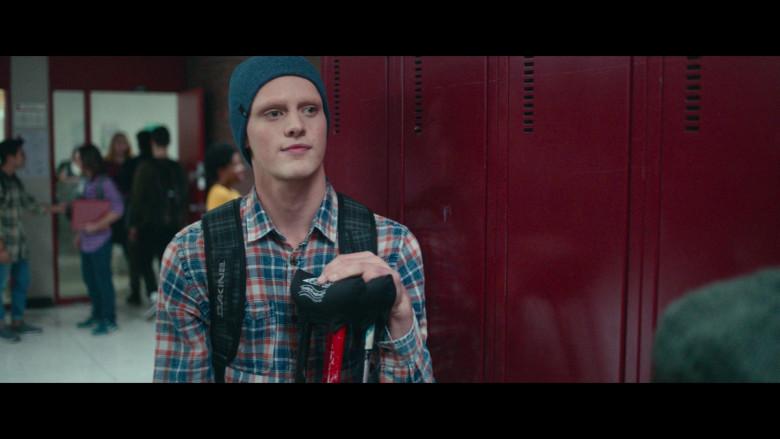 Dakine Backpack of Fin Argus as Zach Sobiech in Clouds Movie (2)